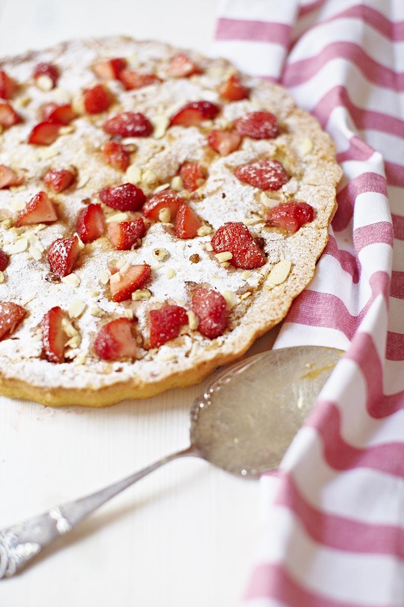 Strawbery tart