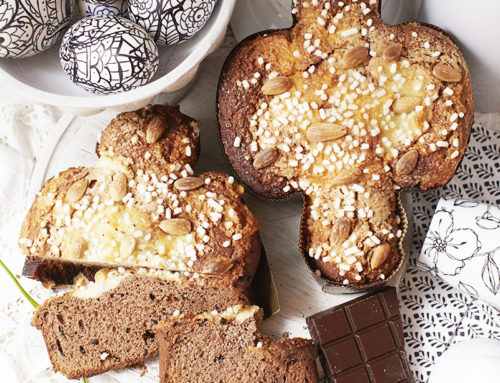 Easter Dove Cake… not a common Colomba